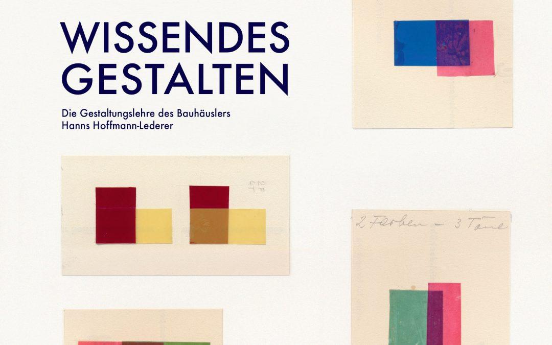 Buchvorstellung zu Hanns Hoffmann-Lederer
